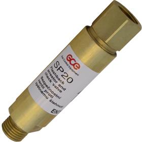 Затвор предохранительный (горючий газ) SP20/FR20 GCE арт. 0762209