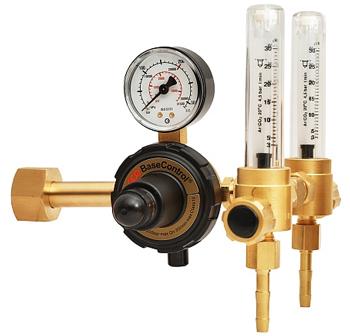 Регулятор с двумя ротаметрами для аргона и углекислоты Base Control арт. 0870478