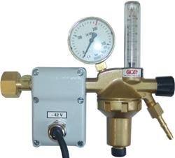 Редуктор углекислотный DINFLOW Plus с подогревателем GCE арт. 0783054 / 0783055