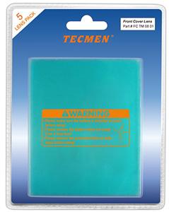 Внешние защитные стекла к маскам TECMEN в исполнении TM-14, TM-15
