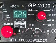 Панель управления сварочного инвертора GP-2000